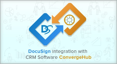 DocuSign integration with CRM software ConvergeHub
