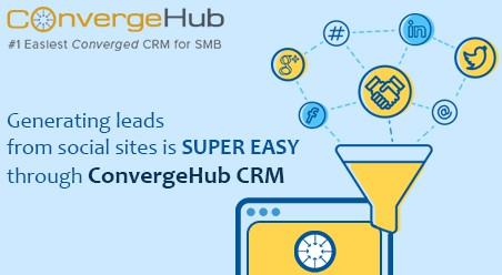 Lead generation from crm software, Lead generation social sites