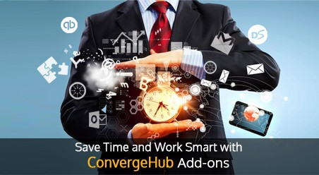 Work smart with ConvergeHub add ons