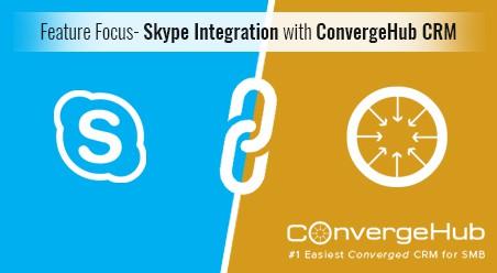 Skype Integration with ConvergeHub CRM