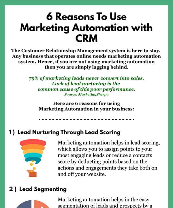 6 Reasons To Use Marketing Automation with CRM