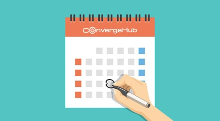 Using ConvergeHub Calendar