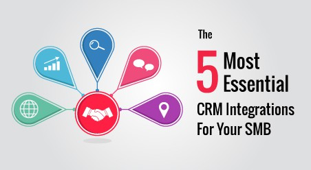 The 5 Most Essential CRM Integrations For Your SMB
