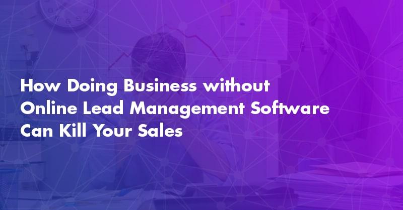online lead management software