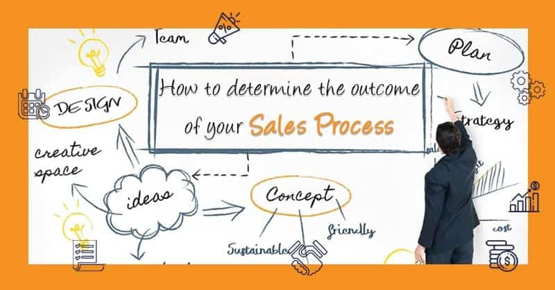 How To Determine The Outcome Of Your Sales Process