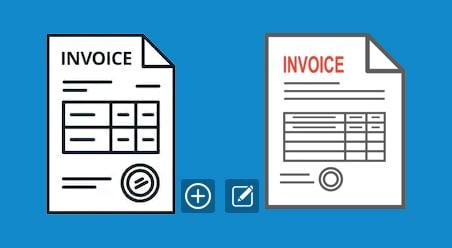Create/Modify Invoice Template and Setup Default Invoice Template