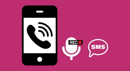 Phone Calls with Recording and SMS Logs