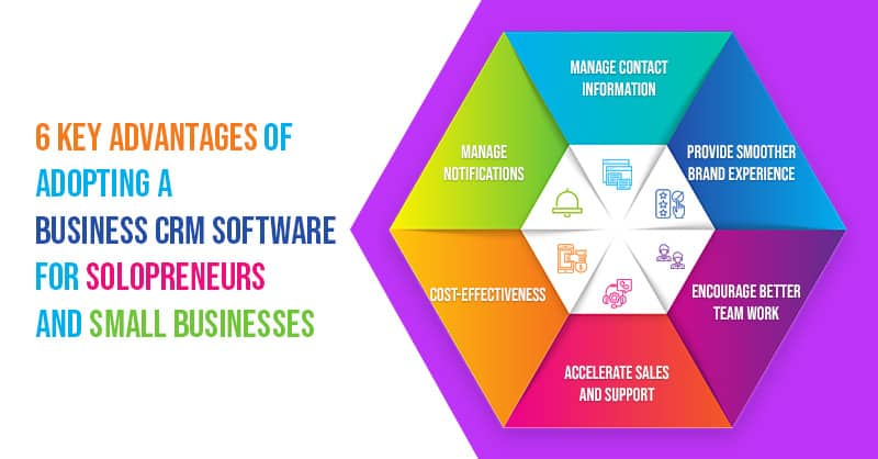 6 Key Advantages Of Adopting A Business CRM Software For Solopreneurs And Small Businesses