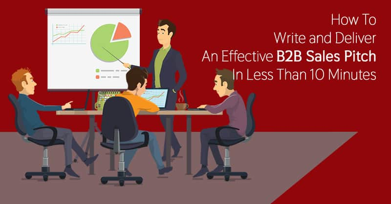 How To Write and Deliver An Effective B2B Sales Pitch In Less Than 10 Minutes