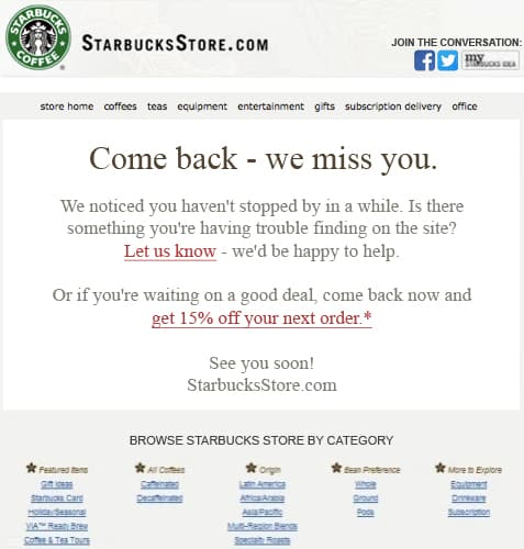 Bring Back Lost Customers
